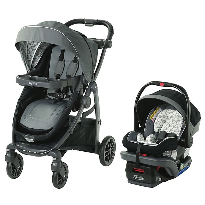 Alternate image 1 for Graco® Modes™ Bassinet LX Travel System in Drew Grey