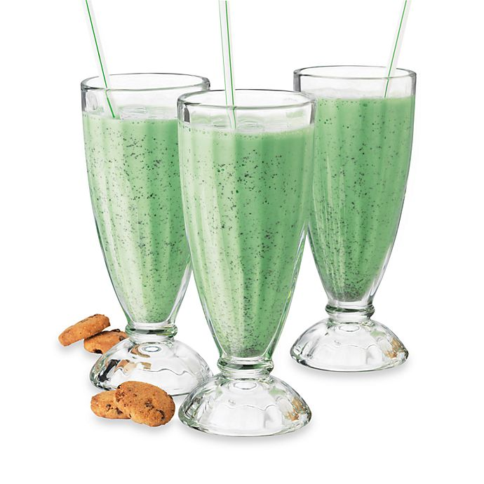 Alternate image 1 for Libbey® 12-Ounce Fountain  Shoppe Glasses (Set of 6)