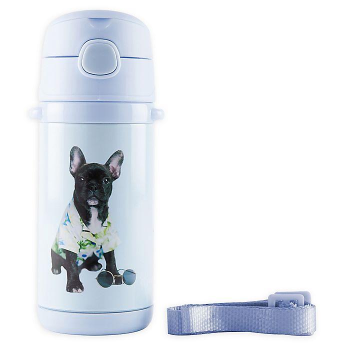 Alternate image 1 for Rachael Hale® Billie 10 oz. Stainless Steel Water Bottle in Blue