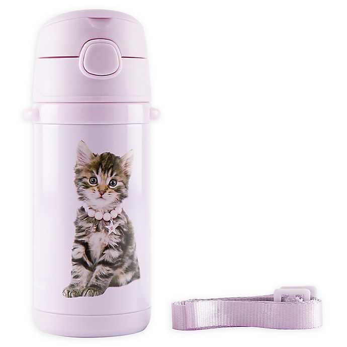 Alternate image 1 for Rachael Hale® Charlie 10 oz. Stainless Steel Water Bottle in Lilac