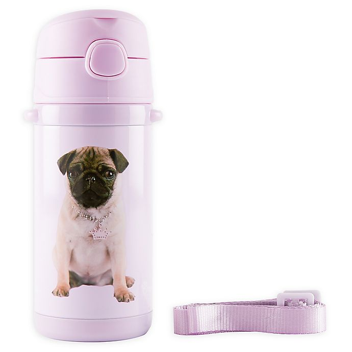 Alternate image 1 for Rachael Hale® Frida 10 oz. Stainless Steel Water Bottle in Blush
