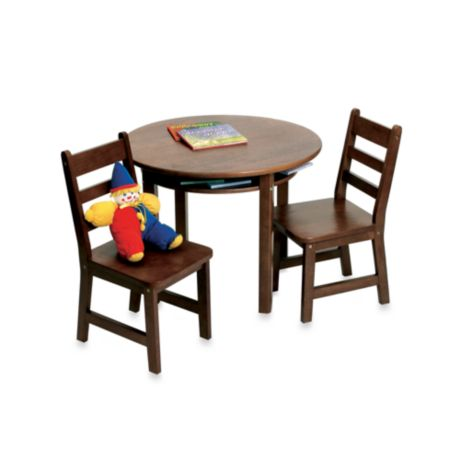 Lipper International Child S Round Table Amp 2 Chairs Set In