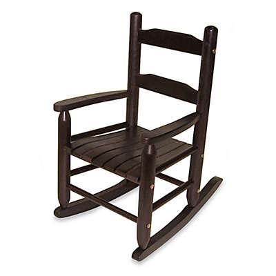 Lipper International Child's Rocking Chair in Espresso