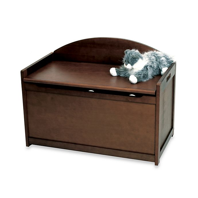 Alternate image 1 for Lipper International Toy Chest in Walnut