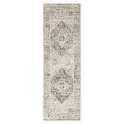 Jaipur Living Kiev 2'8 x 8' Runner in Grey/Ivory