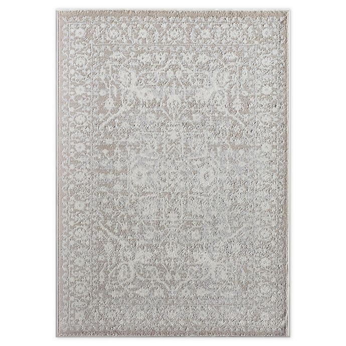 Rugs America Leopold Rug In Cream Bed