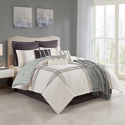 Isa 10-Piece Reversible Comforter Set