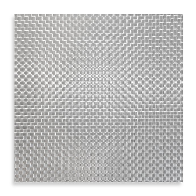 Alternate image 1 for Bistro Woven Square Placemat in Silver