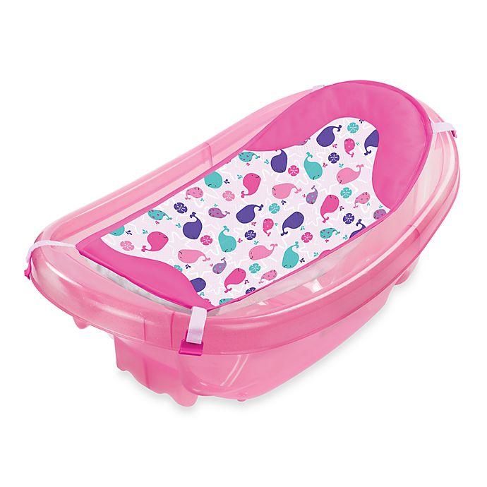 Summer Infant Sparkle N Splash 3 Stage Bathtub In Pink Bed Bath