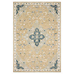 Magnolia Home by Joanna Gaines Ryeland 5' x 7'6 Area Rug in Wheat/Multicolor