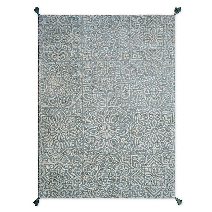 Alternate image 1 for Bee & Willow™ Home Laguna Rug in Aqua