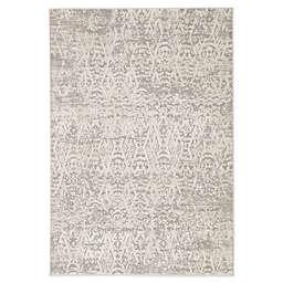 Jaipur Renee Geometric 5' x 7'6 Area Rug in Grey/Ivory