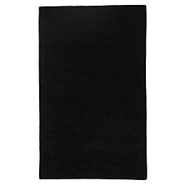 Jaipur Solid Rug in Black