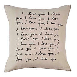 ED Ellen DeGeneres™ Tulare I Love You Square Pillow