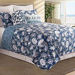 C&F Home™ Cape Coral Reversible Quilt Set