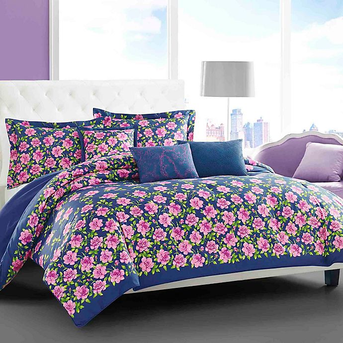 Betsey Johnson Rose Garden Comforter Bonus Set