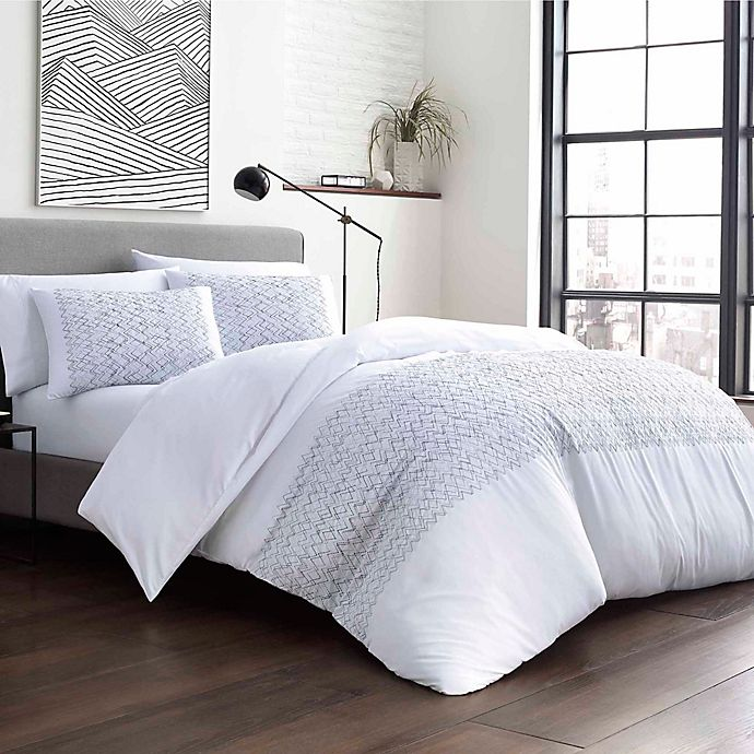 Alternate image 1 for City Scene® Navigate Duvet Set