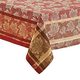 Raleigh Jacquard Table Linen Collection in Spice