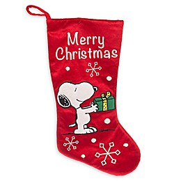 Peanuts™ 20-Inch Snoopy Christmas Stocking