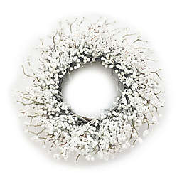 Bee & Willow™ Home 30-Inch Berry Artificial Christmas Wreath in White