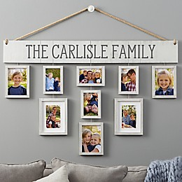 Wallverbs ™ Our Family Personalized Hanging Picture Frame Set