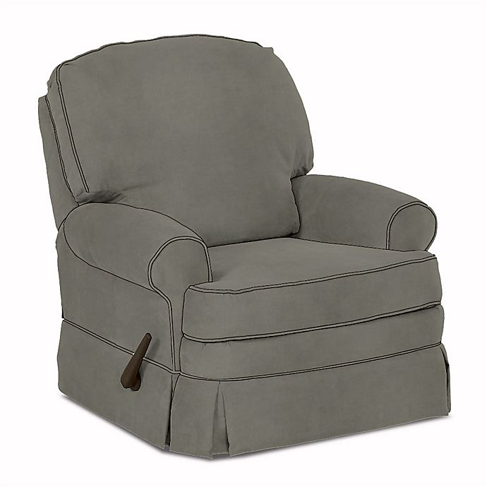 Alternate image 1 for Klaussner® Custom Binford Swivel Gliding Recliner