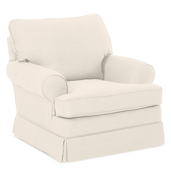 Custom Cavendish Swivel Glider In Beige