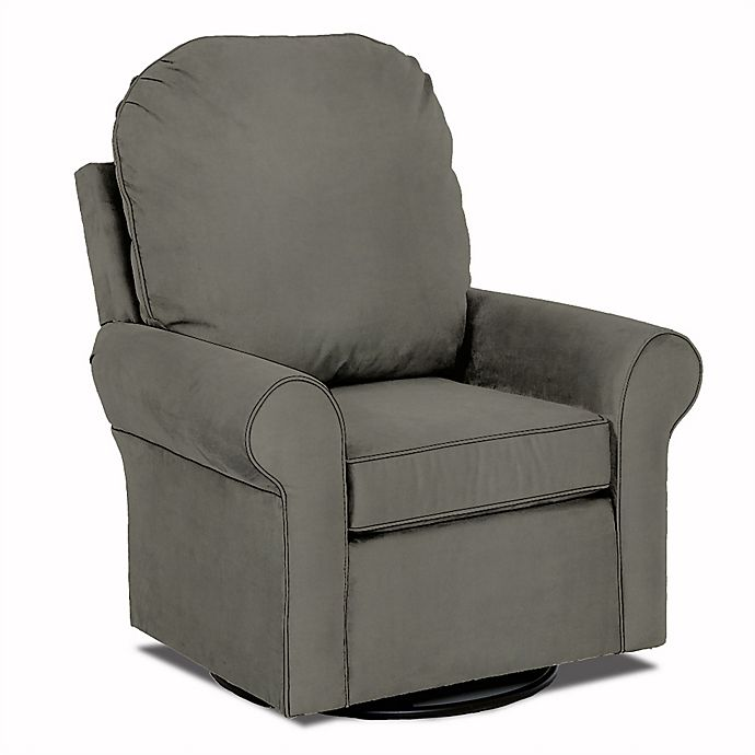 Alternate image 1 for Klaussner® Custom Suffield Swivel Glider