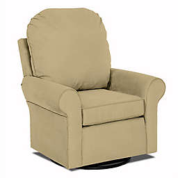 Klaussner® Custom Suffield Swivel Glider