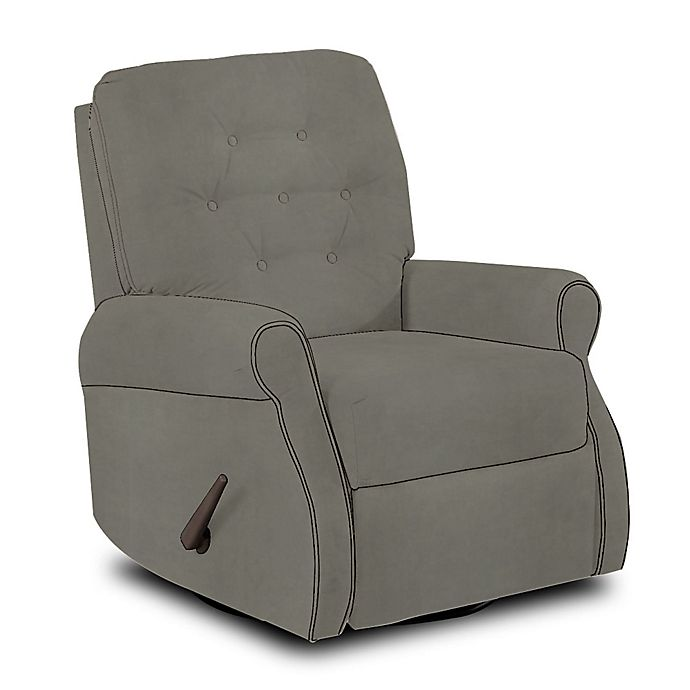Wondrous Klaussner Custom Vandalia Swivel Gliding Recliner Buybuy Baby Uwap Interior Chair Design Uwaporg