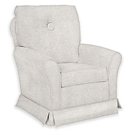 The 1st Chair™ Custom Tate Swivel Glider in Natural Fabrics