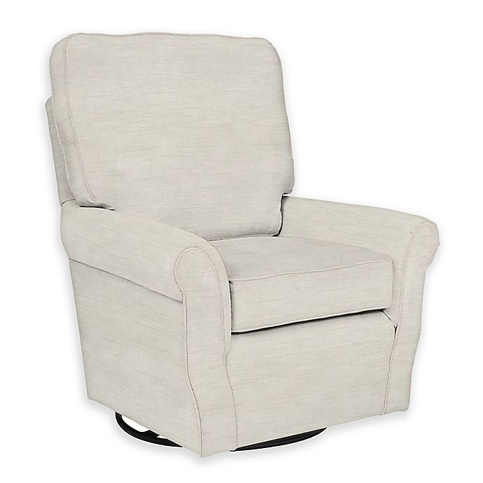 new product a6647 3c8d6 The 1st Chair™ Custom Ella Grace Swivel Glider in White Fabrics