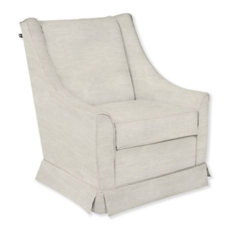 Magnificent The 1St Chair Custom Darcy Swivel Glider Bralicious Painted Fabric Chair Ideas Braliciousco