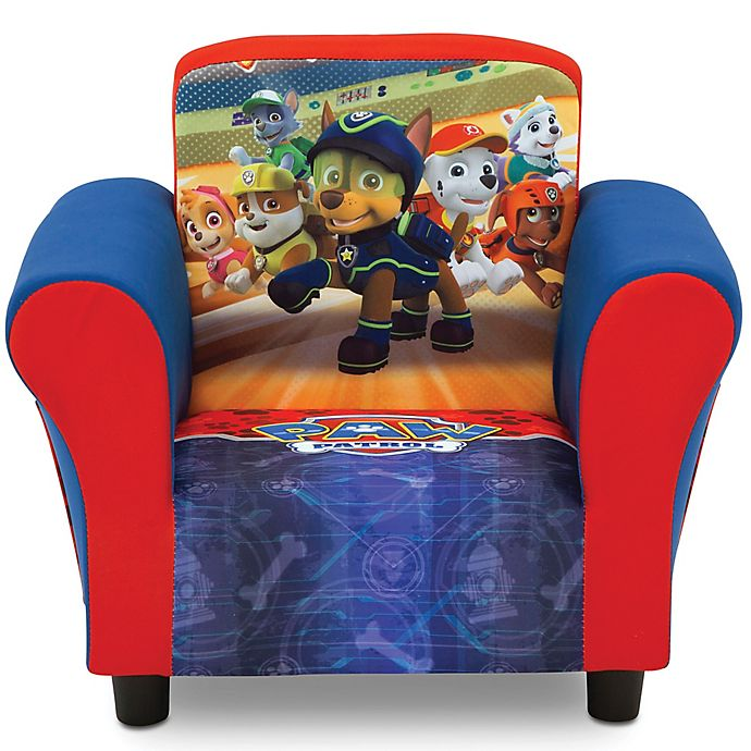 Delta Children Nick JR PAW Patrol Upholstered Chair in Red | buybuy BABY