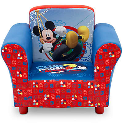 Delta Children Disney® Mickey Mouse Upholstered Chair in Red