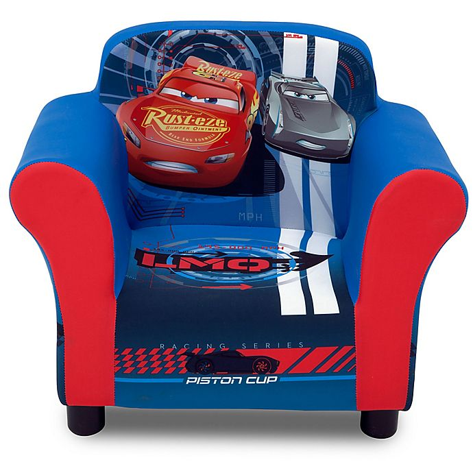 Incredible Delta Children Disney Pixar Cars Upholstered Chair In Red Pdpeps Interior Chair Design Pdpepsorg