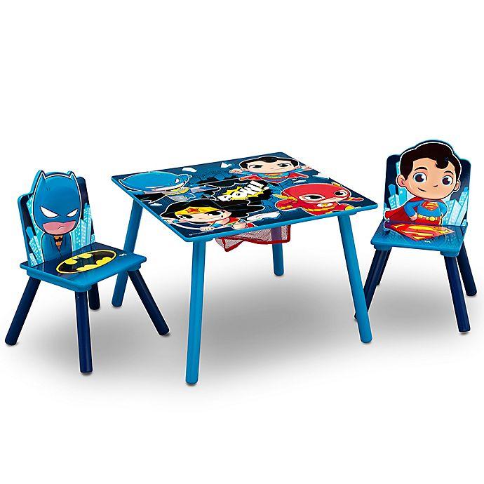 Wondrous Delta Children Dc Super Friends Kids Table And Chair Set Frankydiablos Diy Chair Ideas Frankydiabloscom