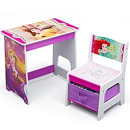 Delta Children Disney® Princess Kids Wood Desk and Chair Set
