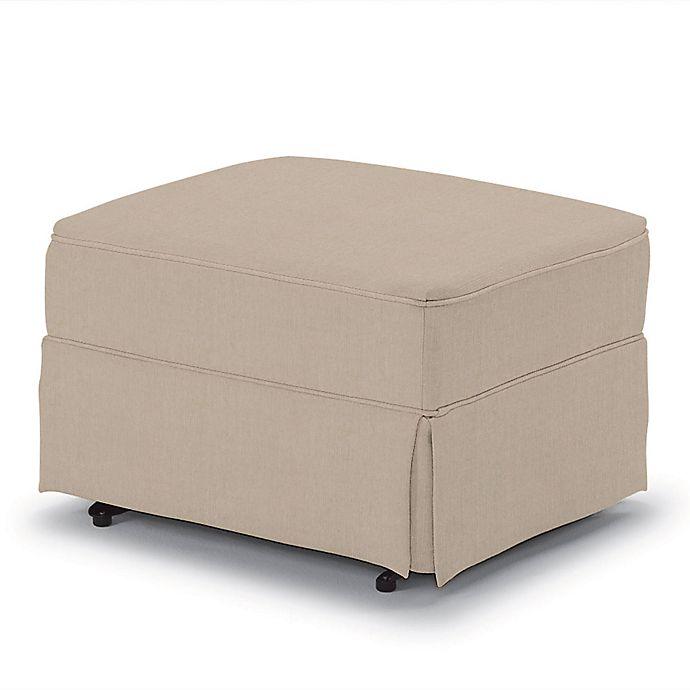 Tremendous Best Home Furnishings Best Chairs 20 25 Inch Glider Ottoman In Tan Customarchery Wood Chair Design Ideas Customarcherynet