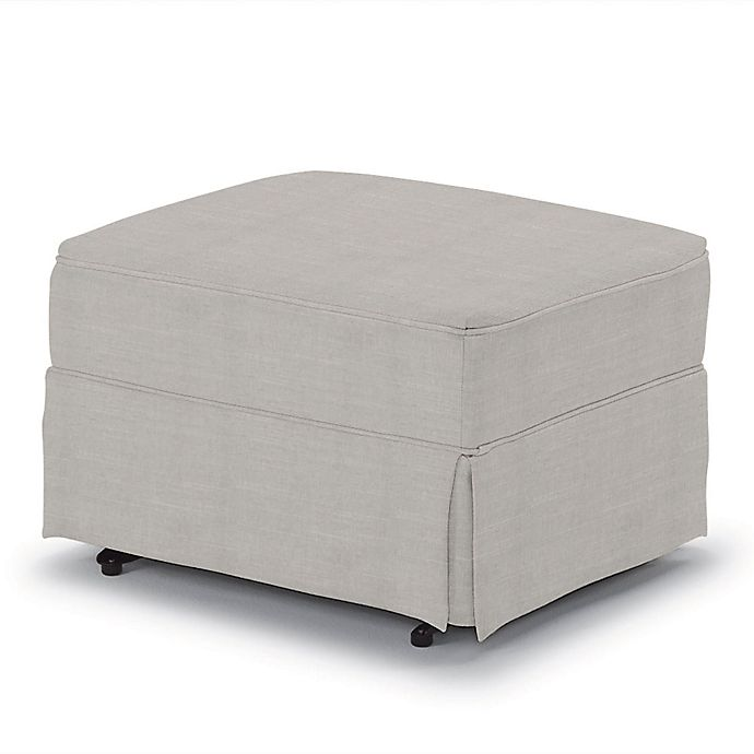 Alternate image 1 for Best Chairs Custom 0056 Gliding Ottoman in Grey