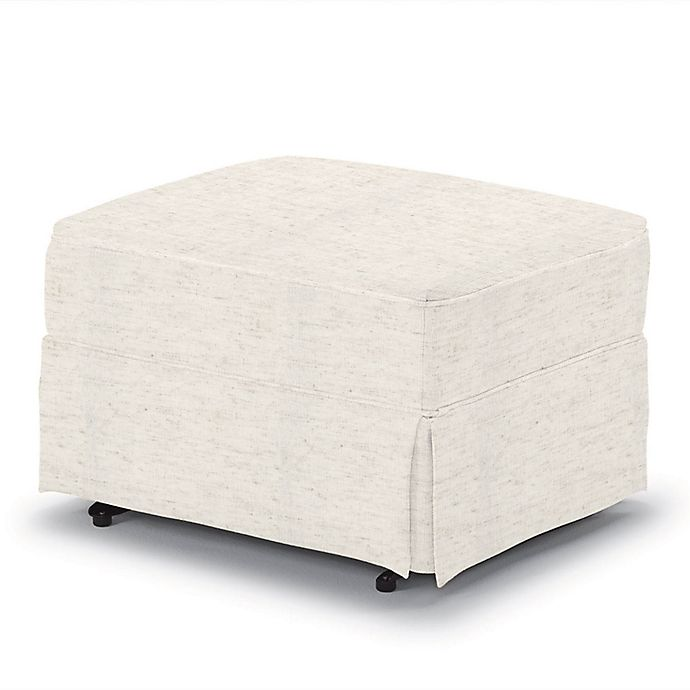 Terrific Best Home Furnishings Best Chairs 19 5 Inch Glide Ottoman In Cream Alphanode Cool Chair Designs And Ideas Alphanodeonline