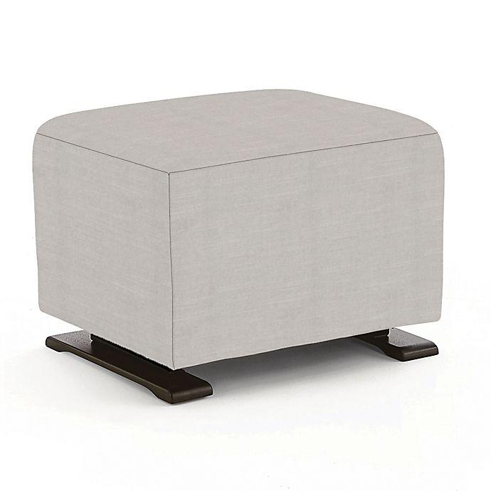 Surprising Best Chairs Glide Ottoman In Grey Customarchery Wood Chair Design Ideas Customarcherynet