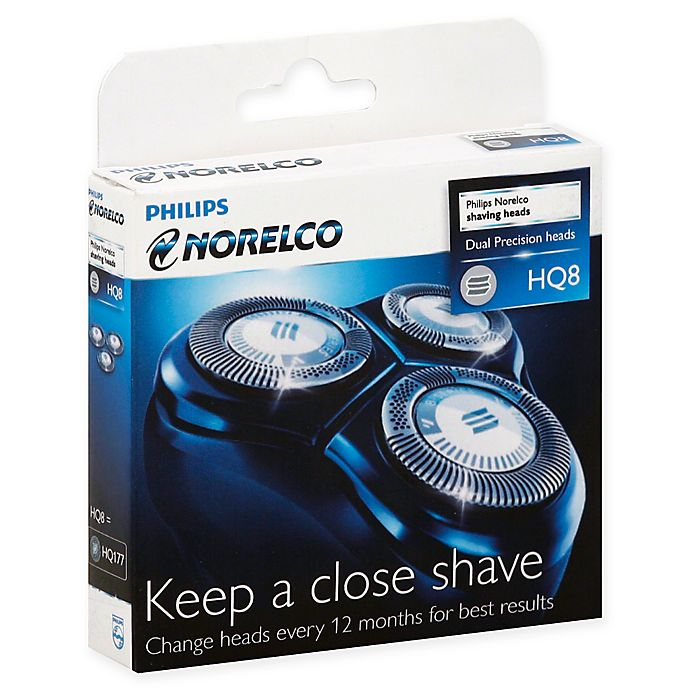 Alternate image 1 for Norelco Spectra Razor Replacement Heads