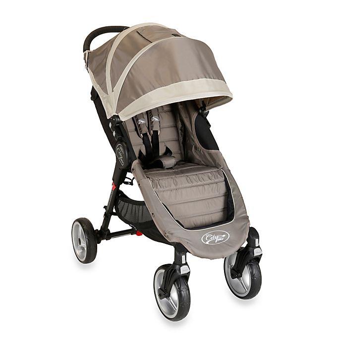 Baby Jogger™ City Mini Single 4 Wheel Stroller in Sand ...