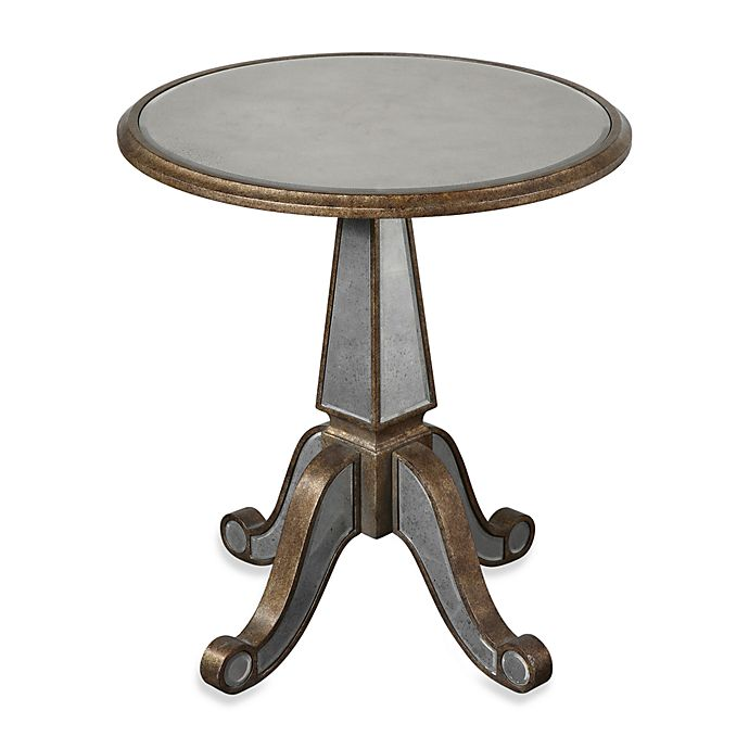 Alternate image 1 for Uttermost Eraman Mirrored Accent Table