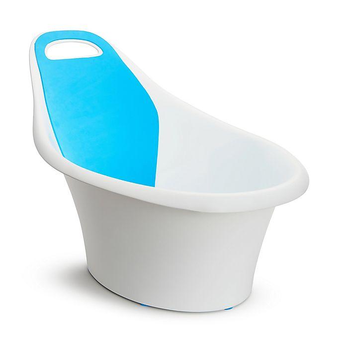 Munchkin® Sit & Soak Infant Bath Tub in White/Blue