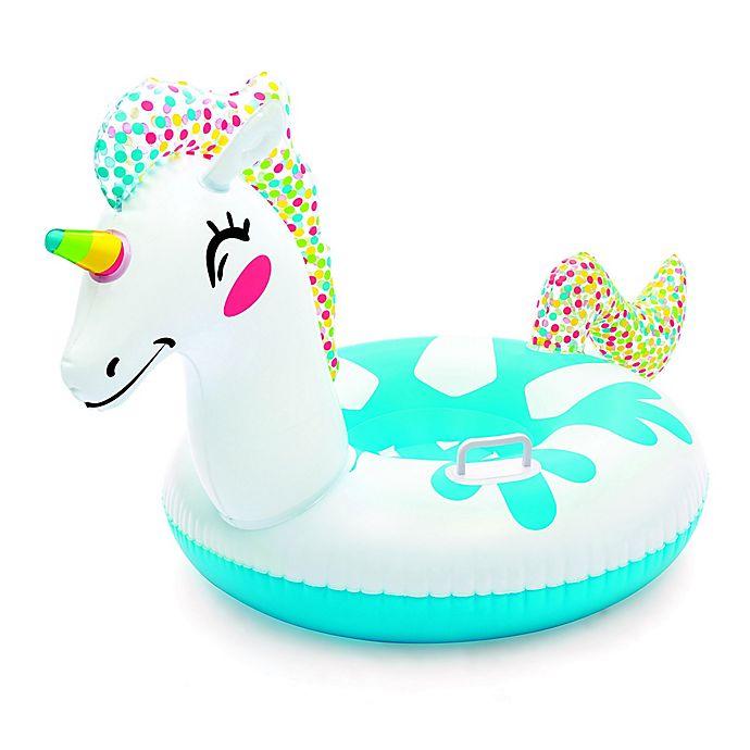 Alternate image 1 for H2OGO! Inflatable Unicorn Snow Tube