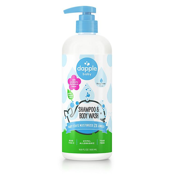 Alternate image 1 for dapple® 16.9 fl .oz Baby Shampoo and Body Wash Fragrance-Free