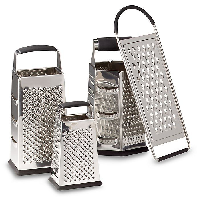 Alternate image 1 for SALT™ Stainless Steel Graters