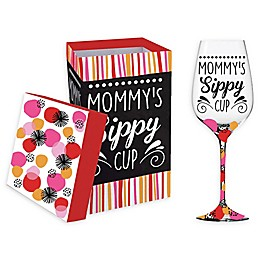 Evergreen Better Sippy Cup Wine Glass with Box